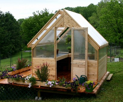 Three Season Cedar Greenhouse