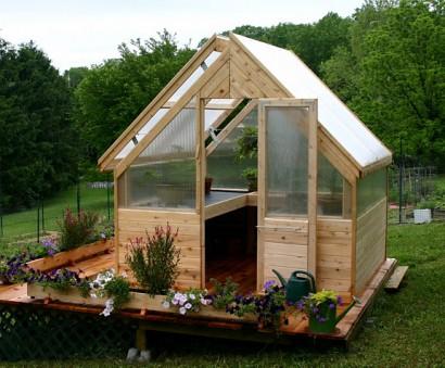 Three Season Cedar Greenhouse