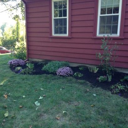 fall planting bed